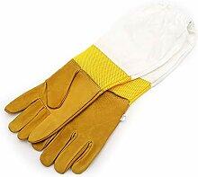 Alaof Bienenzucht Handschuhe Ziegenleder Und Dick