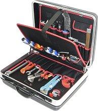 Alarm Hartschalenkoffer 4-h2, komplett, mit Sanitär-heizung-werkzeugpaket 4, 28-teilig