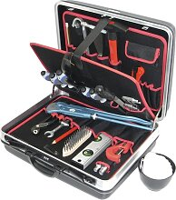 Alarm Hartschalenkoffer 5-h2, komplett, mit Sanitär-azubi-werkzeugpaket 5, 25-teilig,