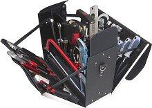Alarm Ledertasche 7-l1, komplett, mit Sanitär-service-werkzeugpaket 7, 37-teilig, 37-t
