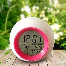 Alarmclocker8B Kreative LED Digital Wecker Bunte