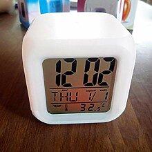 Alarmclocker8B Stilvolle LED ändern elektronische