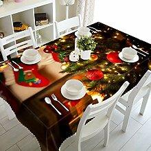 Alayth Tischtuch Gartentisch 1pc 3D Tischdecke