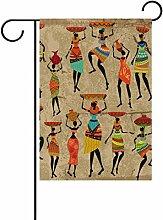 ALAZA Afrikanischer Dekorative Doppelseitige