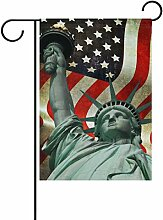 ALAZA Freiheitsstatue amerikanische Flagge