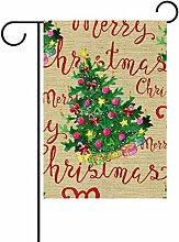 ALAZA Fröhlicher Weihnachtsbaum Dekorative