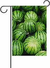 ALAZA Grüne Wassermelonen Dekorative