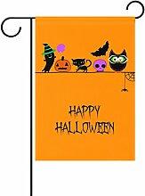 ALAZA Happy Halloween Dekorative Doppelseitige