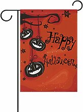 ALAZA Happy Halloween Dekorative Doppelseitige