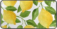 ALAZA Lemons Stehmatte, Küchenteppich, 99,1 x