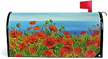 Alaza(mailbox cover) WOOR Poppy Field