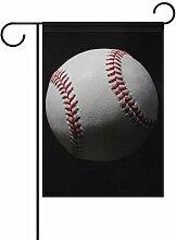 ALAZA Sport Ball Baseball Deko Garten Flagge