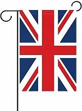 ALAZA Union Jack Flagge Dekorative Garten Flagge
