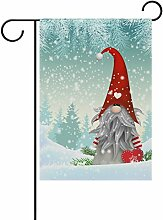 ALAZA Weihnachts-Zwerg aus Polyester für den