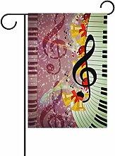ALAZA Weihnachtsmusik Glocken Dekorative