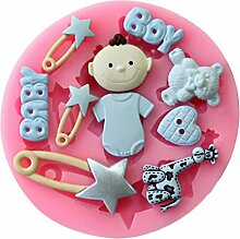 Albeey Baby Geburtstag Kuchendekoration Mold