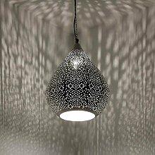 albena shop 71-0193 Najia orientalische Lampe silber (Najia 45cm)