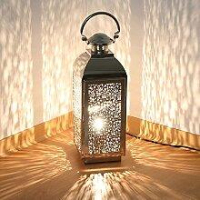 albena shop 75-10 orientalische Lampe Edelstahl