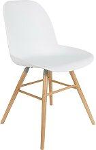 Albert Kuip -  Stuhl - Weiß