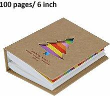 Alberta 6 Zoll 100 Blatt Seite einfügen