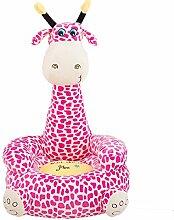 albrose Kinder PP Baumwolle Plüsch Cartoon Spielzeug Sofa Animal Stühle für Kinder Geschenk Giraffe 5