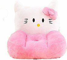 albrose Kinder PP Baumwolle Plüsch Cartoon Spielzeug Sofa Animal Stühle für Kinder Geschenk Pink Cat 2