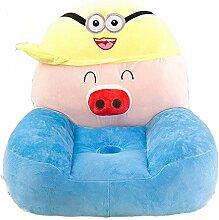 albrose Kinder PP Baumwolle Plüsch Cartoon Spielzeug Sofa Animal Stühle für Kinder Geschenk schwein