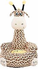 albrose Kinder PP Baumwolle Plüsch Cartoon Spielzeug Sofa Animal Stühle für Kinder Geschenk Giraffe 4