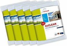 ALCLEAR 5er Set Microfaser Fenstertuch - ideal als