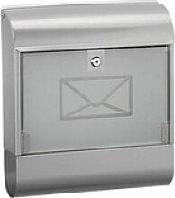 ALCO Briefkasten   silber