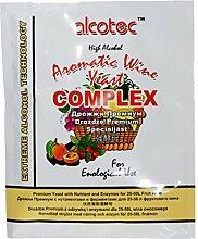 AlcoTec WEINHEFE+ HEFENÄHRSALZ + Enzyme 40g für