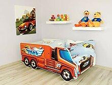 Alcube Kinderbett Auto-Bett Big Truck 140 x 70 cm