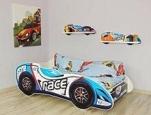 Alcube Kinderbett Auto-Bett Formel 1 - Race 160 x
