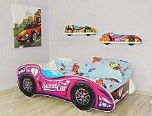 Alcube Kinderbett Auto-Bett Formel 1 - Sweet Car
