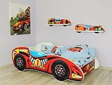 Alcube Kinderbett Auto-Bett Formel 1 - Topcar 160
