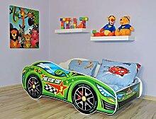 Alcube | Kinderbett Auto-Bett Formel Star | 140 x