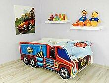 Alcube | Kinderbett Auto-Bett Power Truck | 140 x