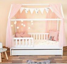Alcube Kinderbett Hausbett Deko Set, Dekoration