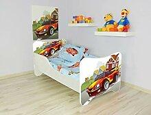 Alcube   Kinderbett Hugo Hotwheel   140 x 70 cm  