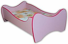 Alcube Kinderbett Pink Swing 160 x 80 cm mit