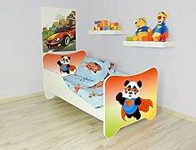Alcube   Kinderbett Superpanda   160 x 80 cm   mit