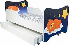 Alcube   Kinderbett Traumbär   160 x 80 cm   mit