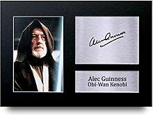 Alec Guinness unterzeichnet A4Gedruckt