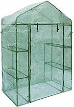 Aleko® gh56X 29X 77Walk In Garten-Pflanze im Gewächshaus 4Böden Schuppen 142,2x 73,7x 195,6cm