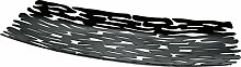 Alessi BM01 B Bark Tafelaufsatz - Stahl,