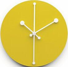 Alessi Dotty Uhr Gelb (Ø) 20 Cm