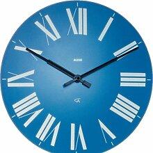 Alessi Firenze Uhr Hellblau