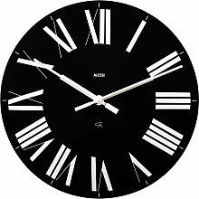 Alessi Firenze Uhr Schwarz