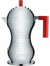 Alessi - Pulcina Espressokocher, 30 cl / rot