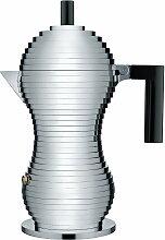 Alessi - Pulcina Espressokocher, 30 cl schwarz